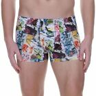 Bruno Banani Mens Underwear Street Art Short Boxer Brief Trunk Graffiti Multi