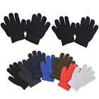 12pairs Assorted Warm Winter Magic Gloves Kids Stretchy Boys Girls Children Lots