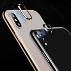 Ring Tempered Glass Screen Protector Camera Lens Film For IphoneX XS Max XR US