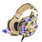 EACH G2600 3.5mm Gaming Headset Stereo Bass MIC LED for PC Laptop PS4 Xbox One