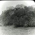 Vtg Keystone Magic Lantern Slide Photo Stirling's Castle Sterling England