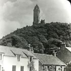 Vtg Keystone Magic Lantern Slide Photo Wallace Monument Stirling Scotland