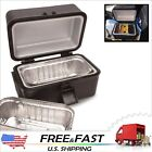 Portable No Microwave Stove Oven Lunch Box Pre-Cooked Meal 12V Car Truck Plug