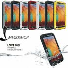 LOVEMEI Shockproof Aluminum Metal Case Cover POWER FOR SAMSUMG GALAXY NOTE3 KF