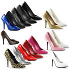 PLEASER - Seduce-420 Classic Heel Pump Court Shoe