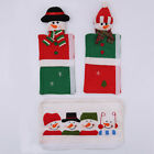 3PCS/Set Appliance Door Microwave Oven Refrigerator Handle Covers Christmas