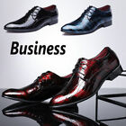 Mens Business Casual Leather Shoes Dress Formal Pointy Toe Wedding Prom Oxfords