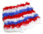 4 TH July Red White Blue Ruffles Pantie Short Pant for Kids Girl 1-8 Year