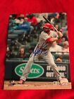ST. LOUIS CRDINALS MATT CARPENTER AUTOGRAPHED 8x10, MLB AUTHENTICATED