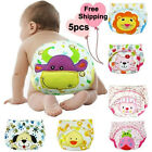 Cloth Reusable Baby Washable Nappies Diaper Kids Trainning Pants Suits Birth New