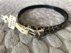 Women's Faux Leather Belt New with Rolfs $22 tag From Dept Store Size S M L XL