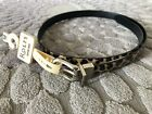 Women's Faux Leather Belt New with Rolfs 22 tag From Dept Store Size S M L XL