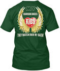 My Guardian Angels Are Kids - They Watch Over Back! Hanes Tagless Tee T-Shirt