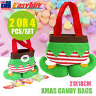 21x18cm Santa Elf Candy Bags Chiristmas Gifts Present Bag Party Home Decor AU