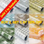 Self Adhesive Wallpaper Waterproof Scrub Mosaic Kitchen Wall Tile Stickers