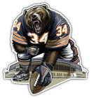 Chicago Bears NFL Mascot Car Bumper Sticker Decal- 3'' or 5'' $3.75 USD on eBay
