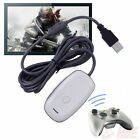 Black/white PC Wireless Controller Gaming USB Receiver Adapter for XBOX 360 QM