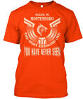 Made In Montenegro Funny Gift - The Most Awesome One Hanes Tagless Tee T-Shirt