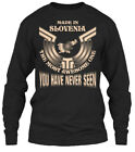 Made In Slovenia Funny Gift - The Most Awesome Gildan Long Sleeve Tee T-Shirt
