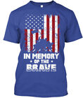 September 11 And Patriot Day - In Memory Of The Brave Hanes Tagless Tee T-Shirt