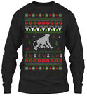 Sensational Monkey Ugly Christmas Sweater Gildan Gildan Long Sleeve Tee T-Shirt