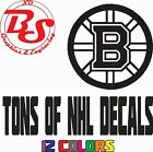 "NHL 6"" Hockey Vinyl Decal Car Truck Window Sticker Ice 12 colors noB $3.85 USD on eBay"
