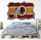 Washington Redskins Wall Art Decal 3D Smashed Football Kids Wall Decor WL162 on eBay