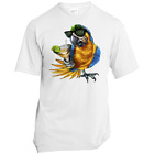 Port & Co. Made in the USA Unisex T-Shirt - Party Parrot