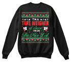 Easy-care Tare Weigher - I'm A On The Nice List Hanes Unisex Crewneck Sweatshirt