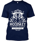 Team Mccoskey Lifetime Member Legend - Hanes Tagless Tee T-Shirt
