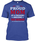 On trend Tare Weigher - I'm A Proud Mom Of Freaking Hanes Tagless Tee T-Shirt