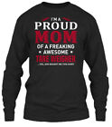 Quality Tare Weigher - I'm A Proud Mom Of Gildan Long Sleeve Tee T-Shirt