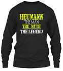 Heumann Man Gildan Long Sleeve Tee T-Shirt