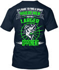 Larger Opponent - Its Rare To Find A Sport Where Men Pray Premium Tee T-Shirt image