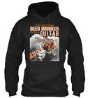 Just Another Beer Drinker With A Guitar Gildan Hoodie Sweatshirt