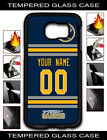 NHL Buffalo Sabres Personalized Name/Number Samsung Tempered Glass Case 160506 $15.99 USD on eBay