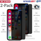 For Apple iPhone XS Max/XR 2018 Anti-Spy Privacy Tempered Glass Screen Protector