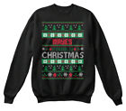 Mayes Family Ugly Sweater S - Christmas Hanes Unisex Crewneck Sweatshirt