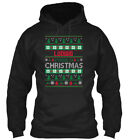 Ludwig Family Ugly Sweater S - Christmas Gildan Hoodie Sweatshirt