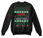 Mccray Family Ugly Sweater S - Christmas Hanes Unisex Crewneck Sweatshirt