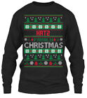 Katz Family Ugly Sweater S - Hat2 Christmas Gildan Long Sleeve Tee T-Shirt