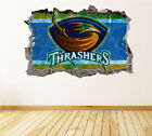 Atlanta Thrashers Wall Art Decal Hockey Team 3D Smashed Wall Decor WL07 $36.95 USD on eBay