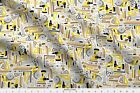 Tool Wood Man Guy Construction Home Build Fabric Printed by Spoonflower BTY