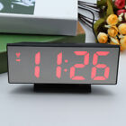 Digital 7.8 LED Bedroom Dual Function Mirror Alarm Clock USB / Battery Powered