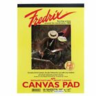 TARA/FREDRIX 3497 WHITE REAL CANVAS PAD 10 SHEETS 10X14