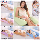 US Pregnancy Pillow - Support Full Body Pillow for Maternity&Pregnant Women image