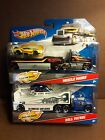 HOT WHEELS TRUCK TRANSPORTER HAULER DETACHABLE CAB - CHOOSE ONE