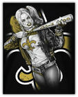 New Orleans Saints NFL Suicide Squad Car Bumper Sticker Decal - 3'' or 5'' $3.75 USD on eBay