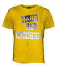 HARD TO FORGET MENS FASHION SLOGAN T-SHIRT TOP SWAG HIPSTER SHORT SLEEVE TRENDY