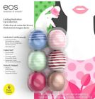 EOS Lip Balm 6 Pack Lasting Hydration Collection Natural Visibly Soft Medicated